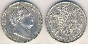 1/2 Krone Royaume-Uni Argent