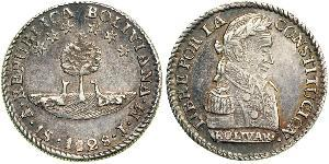 1 Sol Plurinational State of Bolivia (1825 - ) Silver