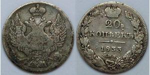 20 Kopeck Russian Empire (1720-1917)