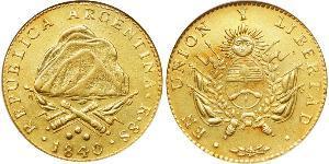 8 Escudo Argentina (1861 - ) Oro