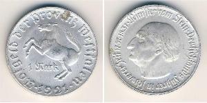 1 Mark Germany Aluminium