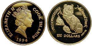 100 Dollar Cook Islands  Elizabeth II (1926-)