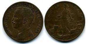 5 Centesimo Kingdom of Italy (1861-1946) Cuivre