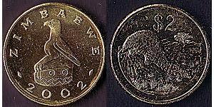 2 Долар Зимбабве (1980 - )