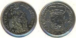 1/4 Gulden Dutch Republic (1581 - 1795) Silver