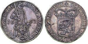 1 Ducat Provincias Unidas de los Países Bajos (1581 - 1795) Plata