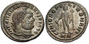 1 Follis Empire romain (27BC-395) Bronze Maximien (250-310)