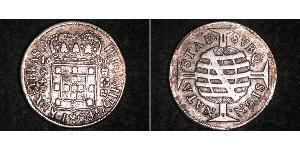 640 Reis Brazil Silver