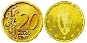 20 Eurocent Ireland (1922 - ) Nordic gold