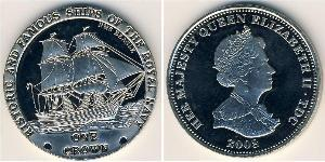 1 Krone Tristán de Acuña Cobre/Níquel