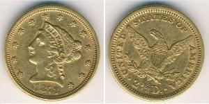 2,5 Dollar USA (1776 - ) Gold