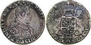 2 Ducaton Нидерланды Серебро Philip IV of Spain (1605 -1665)