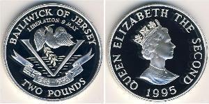 2 Pound Jersey Plata