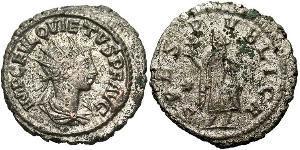 1 Antoniniano Imperio romano (27BC-395)  Quieto (?-261)