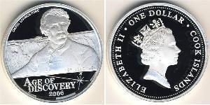 1 Dollar Cook Islands Silver