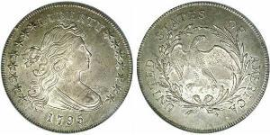 DRAPED BUST / PLAIN EAGLE SILVER DOLLARS (1795-1798)