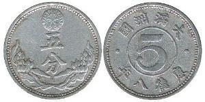 5 Fen Manchukuo