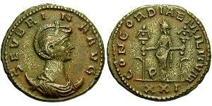 1 Antoninien Empire romain (27BC-395)  Ulpia Severina (?-?)
